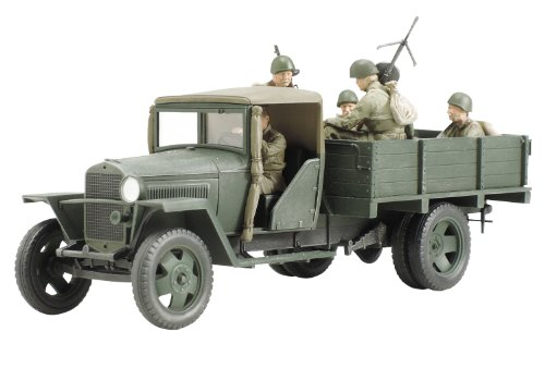 タミヤ 1/48 ミリタリーミニチュアシリーズ No.77 ソビエト陸軍 1.5トン カーゴトラック 1941年型 プラモデ...