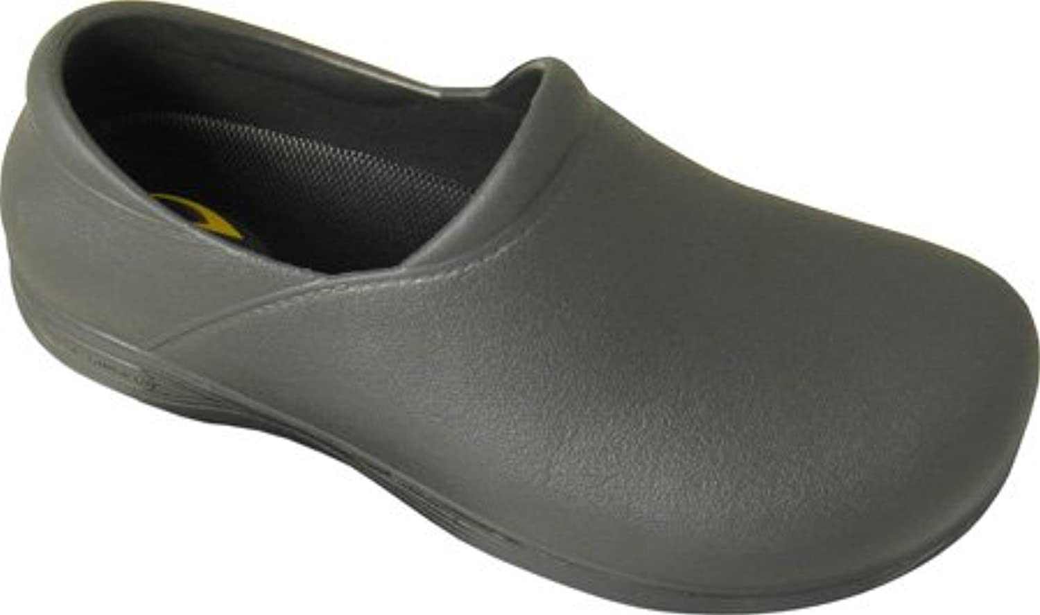 Genuine Grip Footwear Women's Slip-Resistant Injection Clogs,Black EVA,US 12 W