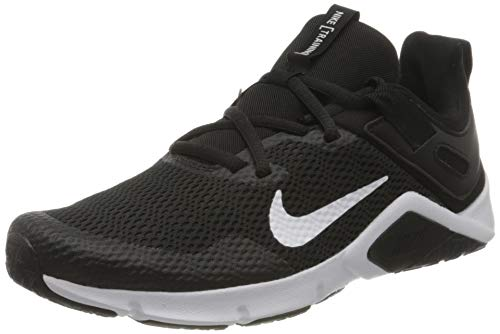 Nike Damen WMNS Legend Essential Sneaker, Black/White-White, 38 EU