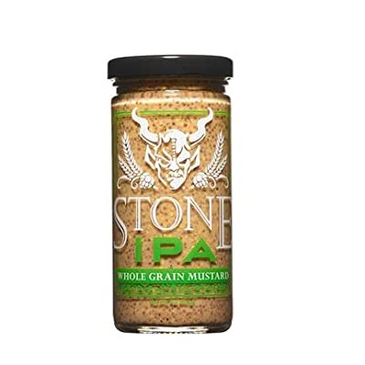 Stone Brewing IPA Whole Grain Mustard 8oz 1 Pack