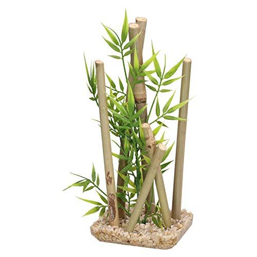 AB Tools Acquatici Decor Bastone di bambù, di Medie Pesce Serbatoio Ornamento 9x11x25cm