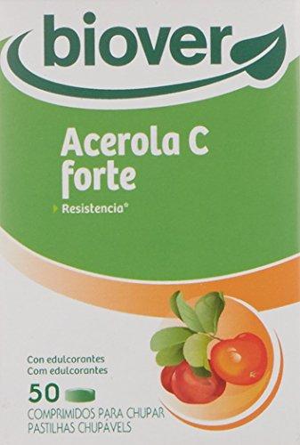 Biover Acerola C Forte, Suplemento de Hierbas - 50 Cápsulas