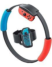DAIFA Adventure Fitness Ring, Switch Fitness Ring, Accessoires Kit 1 Switch Fitness Ring, 1 Verstelbare Elastische Beenriem, 1 Ring-Con Grips