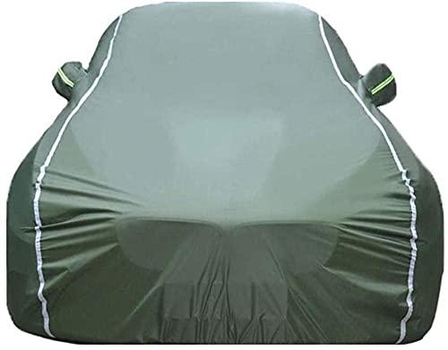 WYJW Autoabdeckung kompatibel mit Mercedes AMG SLK SLS SLC SLS S SL G GL Wasserdicht gegen Hagel Regen Schneebeständig Allwetterschutz Autoabdeckung Kratzfest Outdoor-Green_G