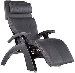 Human Touch Perfect Chair PC-Live PC-610 Matte Black - Gray Premium Leather Zero Gravity Recliner