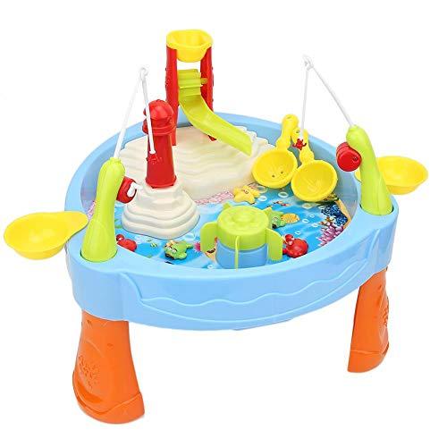 Juegos interactivos de Agua, Juguete de Pesca de Escritorio Juego de Mesa Inteligencia Juego de Escritorio de Deportes interactivos para Padres e Hijos Juguete para niños