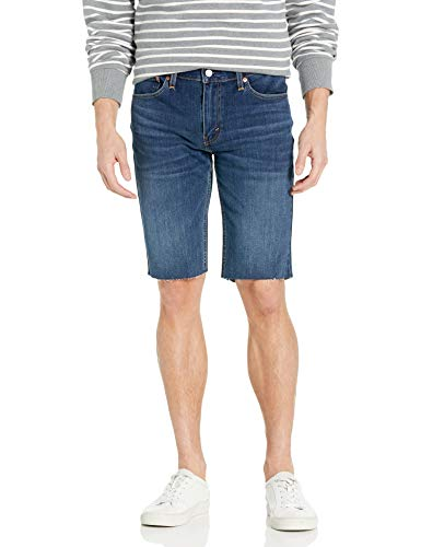 Levi's Men's 511 Slim Long Cut-Off Short, Apricot - Stretch, 34