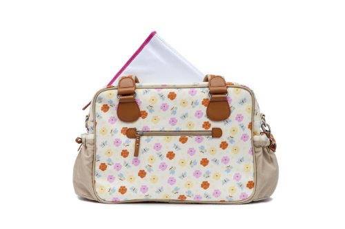 Pink Lining 13SS027 Wickeltasche Not so Plain Jane Pansies