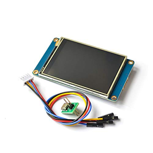 DIYUKMALL Nextion 2.8' TFT 320x240 resistive touch screen display HMI LCD-Display-Module TFT Touch Panel for arduino TFT raspberry pi