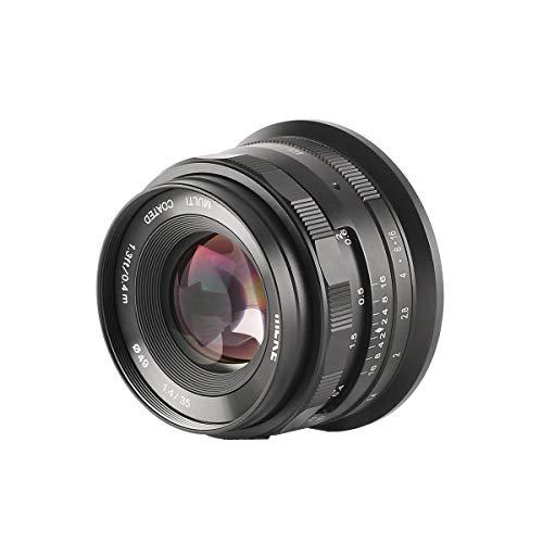 MEKE MK-35 mm F1.4 manueller Fokus große Blende Objektiv kompatibel mit APS-C Nikon Z-mount spiegellose Kamera wie Z50