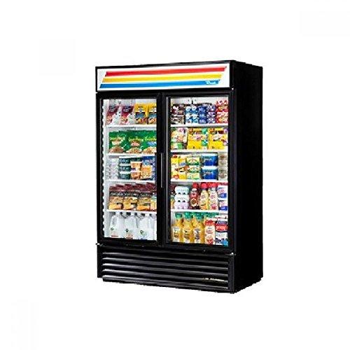 True GDM-49-HC-LD Glass Swing Door Refrigerator W/ LED Lighting