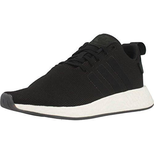 adidas NMD_R2, Zapatillas Unisex Adulto, Negro (Core Black/Core Black/Core Black 000), 42 2/3 EU