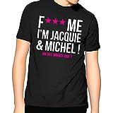 Photo de Jacquie Et Michel - 1 T-Shirt - Homme - Taille S - Noir