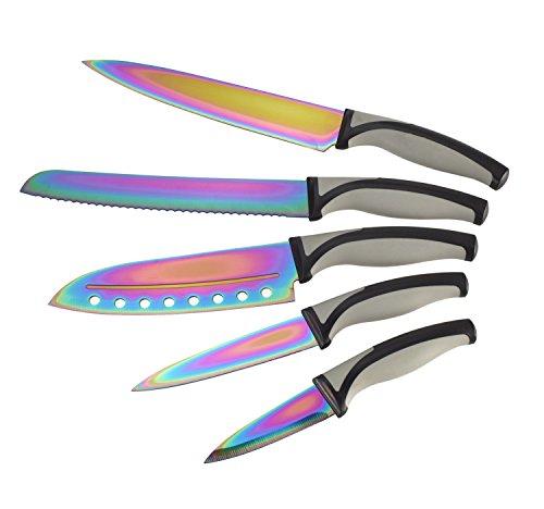 Natural Cook - Set da 5 coltelli in titanio
