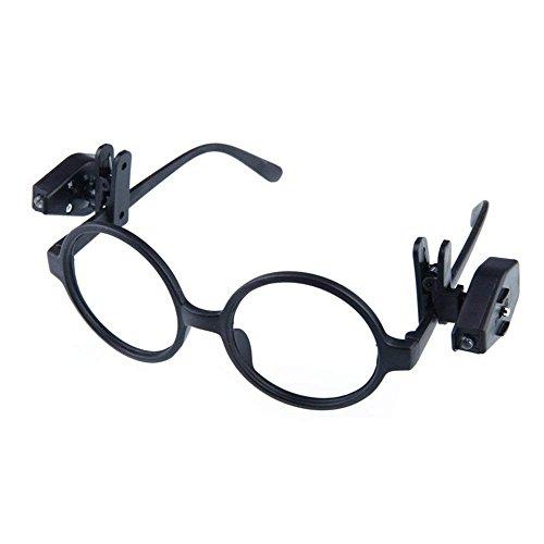 Demarkt Leselicht für die Brille für Elektriker Installateure Ingenieure Heimwerker ABS Kunststoff 40 x 23 x 26mm