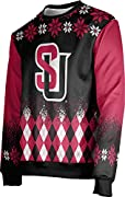 Licensed Seattle University Ugly Holiday clothing for Men's Officially Licensed Collegiate Seattle University Ugly Holiday Sweatshirts are made with 100% lightweight polyester, soft brushed premium fleece in a contemporary fit with bold graphics that...