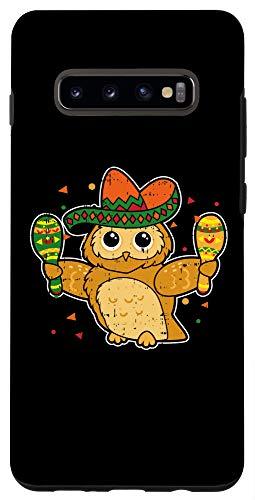 Galaxy S10+ Cinco De Mayo Drink Gift Sombrero Maracas Fiesta Gift Case