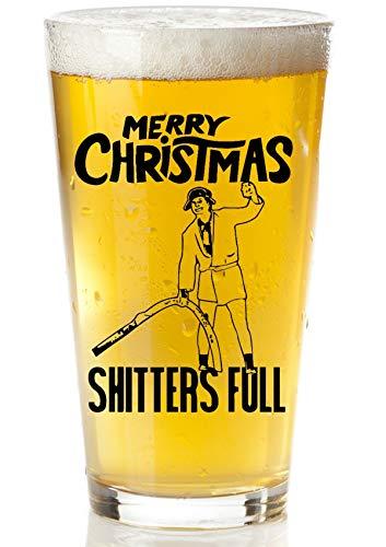 Christmas Vacation Funny Beer Glass