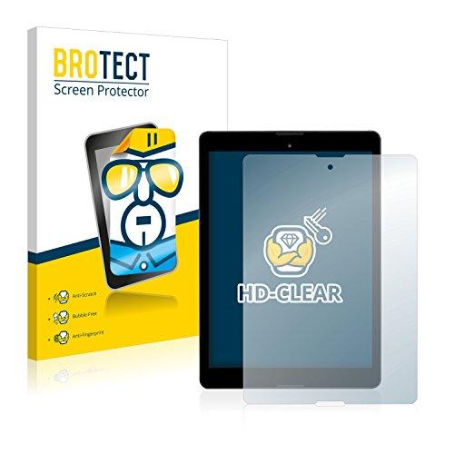 BROTECT Schutzfolie kompatibel mit Medion Lifetab P9701 (MD 90239) (2 Stück) klare Bildschirmschutz-Folie