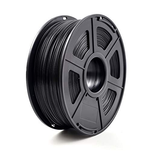 3D Printer Filament ABS 1.75mm 1kg/2.2lb ABS plastic Consumables Material for 3D Printer and 3D Pen ABS Filament (Color : Black)