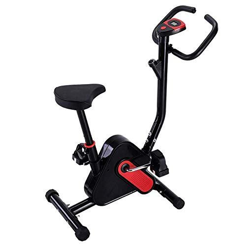 HHJJ Runningmachine1121 Bicicleta estacionaria en posición Vertical, Nuevo Monitor de Ejercicios con teléfono/Tableta Runningmachine1121
