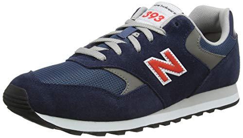 New Balance 393, Zapatillas Hombre, Natural Indigo, 43 EU