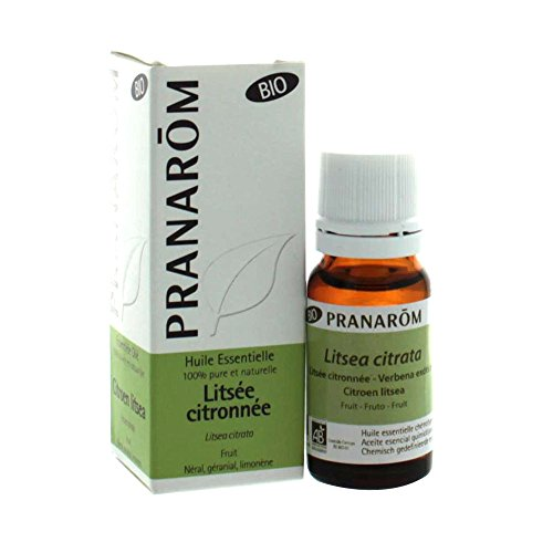 Pranarom Verbena Exótica BIO, Aceite Esencial Natural, 10 ml