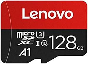 LENOVO 128GB Micro SD Card,Good Value for Nintendo Switch and Gopro Hero 8 Black U3 A1 MicroSDXC Card High Speed Up to 100MB/s UHS-I MicroSD Memory Card for Android Smartphone