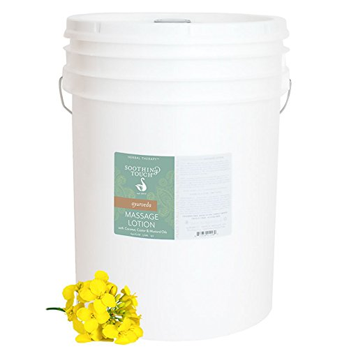 Soothing Touch Ayurveda Massage Lotion, 5 Gallon