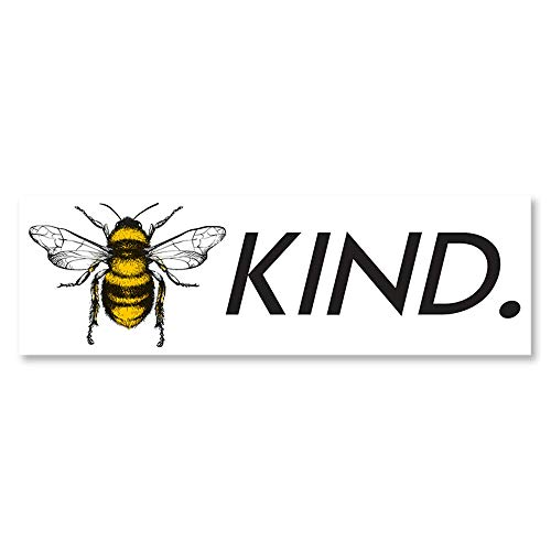IT'S A SKIN Bee Kind | Vinyl Sticker Decal for Laptop Tumbler Car Notebook Window or Wall | Funny Novelty Decal
