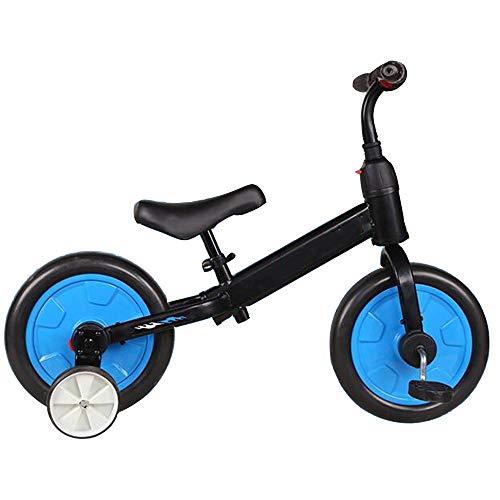 YumEIGE Balance Bikes Schuimwheel Balance Bikes van koolstofstaal voor kleine kinderen en kinderen, voor 2-6 jaar jongens meisjes kinderverjaardag zwart
