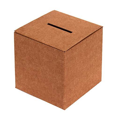 Kartox | Urna de Cartón para Votaciones o Eventos | Caja de Cartón para Sugerencias o Buzón | 35x35x35