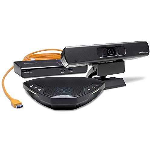 Konftel C20Ego Videokonferenzsystem Group Video conferencing System 6 Person(en) - Videokonferenzsysteme (4K Ultra HD, 8X, 2160p, 3840x2160@30fps, H.264, MJPEG, 50-24000 Hz)