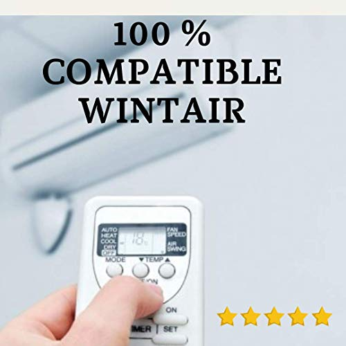 WINTAIR - Mando Aire Acondicionado W I - Mando a Distancia Compatible 100% con Aire Acondicionado WINTAIR. Entrega en 24-48 Horas. WINTAIR MANDO COMPATIBLE.
