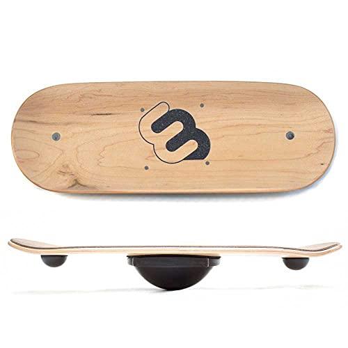 Whirly Board Wide Standing Desk Balance Board & Half-Ball Balance Trainer