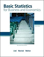 Basic Statistics for Business and Economics by Douglas A. Lind (2010-02-01)