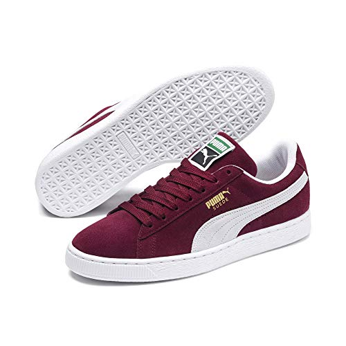 Puma Suede Classic+, Sneaker Unisex – Adulto, Rosso (Cabernet/White), 42 EU