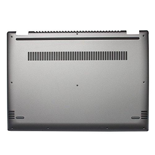YUHUAI New Laptop Replacement Bottom Base Cover Case For Lenovo Flex5 Series Flex5-14 D Shell (Sliver D Shell)
