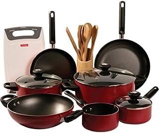 Prestige Classique 16 Pieces Cooking Pot Set PC16PCSET