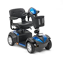 Max range of 30 mile - Top speed of 6mph - Powerful 470W motor - Battery - 50ah 12v x 2 Fully functioning indicators and mirror for road use - All round suspension Stylish silver wheel hubs - Black puncture proof non-marking tyres Delta bars as stand...