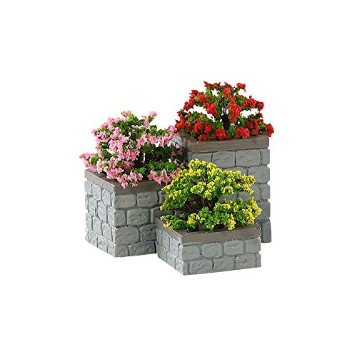 Lemax - Flower Bed Boxes - Set of 3