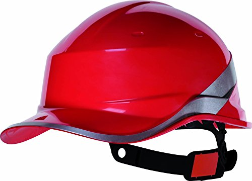 Venitex Hi Vis Sicherheits-Baseball-Helm, Rot-sizeO/S