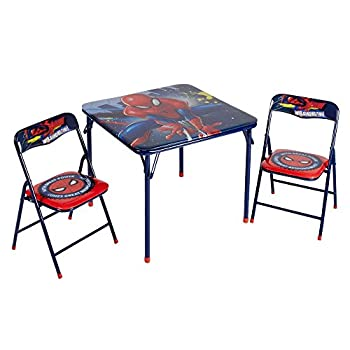Marvel Spider Man Table & Chair Set