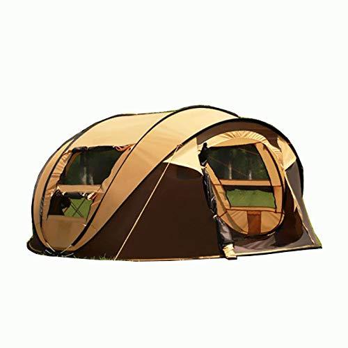 Tienda de Lanzamiento Pop Up Impermeable para 4-5 Personas - Robusta, Ultra Ligera Tienda iglú Acampar, al Aire Libre y Festivales (Style 2)