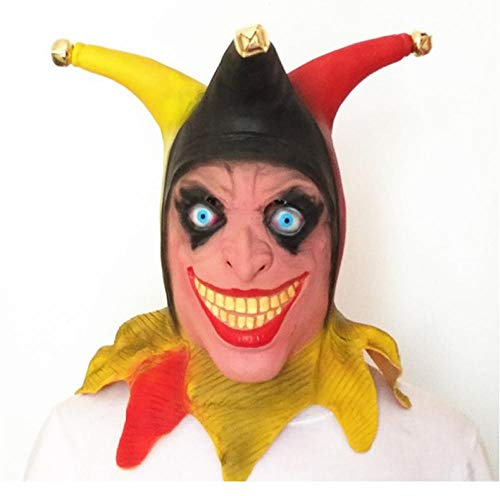 HXQQ Comic Halloween Masken Latex Masken