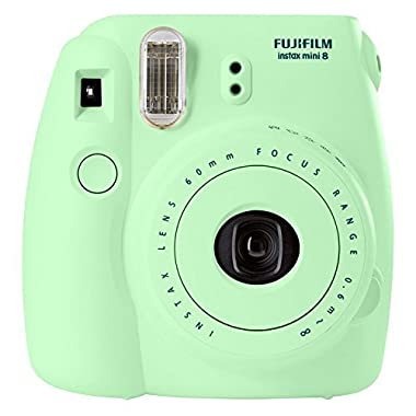 Fujifilm Instax Mini 8 Instant Film Camera (Mint) (Discontinued by Manufacturer)