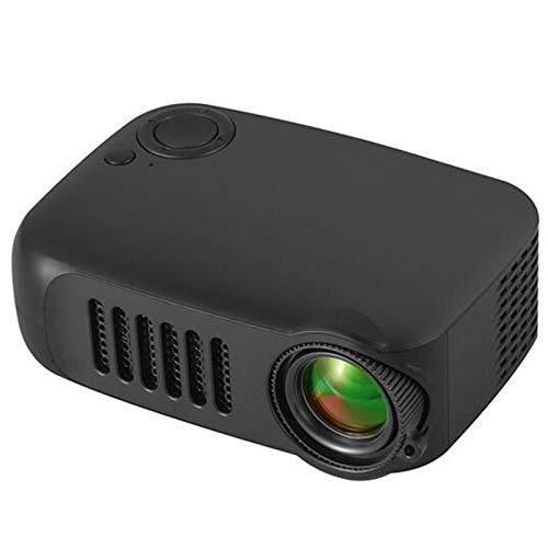 YP Mini Proyector,Proyector Portable de Bolsillo con la Entrada de USB/HDMI para el Interfaz Teléfono Inteligente/TV/Películas/Juegos,Ver Mientras se Carga,Regalo Infantil,Negro,British