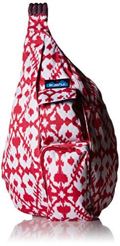 KAVU Rucksack aus Seil, Pink Blot, Einheitsgröße