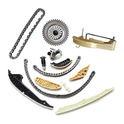 Bicos 06K109467 06H109469AD Engine Timing Chain Kit Replacement for A3 A4 A5 A6 Q5 Quattro VW Tiguan Jetta CC EOS GTI Beetle 2.0T