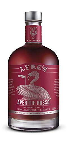 Lyre's Aperitif Rosso Non-Alcoholic Spirit - Sweet Vermouth Style | Gold Medal Winner | 23.7 Fl Oz